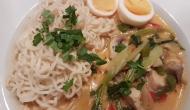 Thai Suppe mit Kokos und Huhn 5