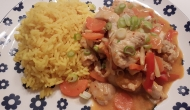 Rotes Thai Curry 2