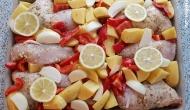 Zitronenhähnchen 1